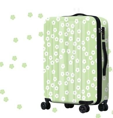 A341 Fashion Lock Universal Wheel ABS+PC Travel Suitcase Luggage 20 Inches W
