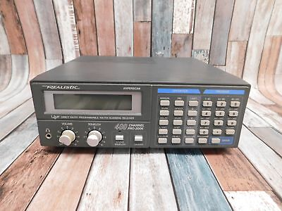 REALISTIC Pro 2006 400 Channel Hyperscan Scanner Scanning Receiver Radio - S98