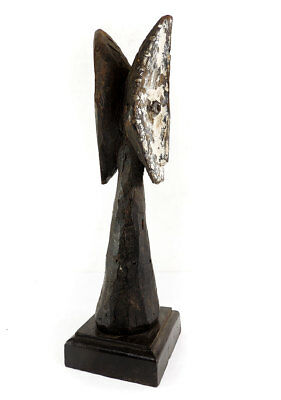 Lega Figural Post with Janus Faces Bwami Society Congo SALE WAS $210.00