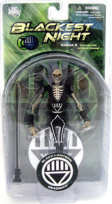 DC Blackest Night Series 5 Black Lantern Deadman Action Figure MINT