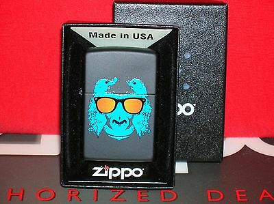 "New Zippo ""ape With Shades"" - #28861 - We Ship Fast-Save $$ Here!!"