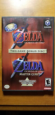 The Legend of Zelda: Ocarina of Time & Master Quest (GameCube) Used, Tested