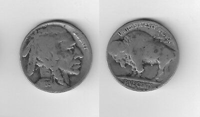 One 1935 S  Buffalo Nickel in great  Condition
