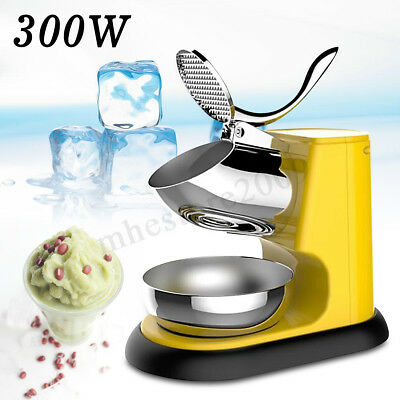 300W Electric Ice Crusher Shaver Ice Crushing Machine For Cocktails &