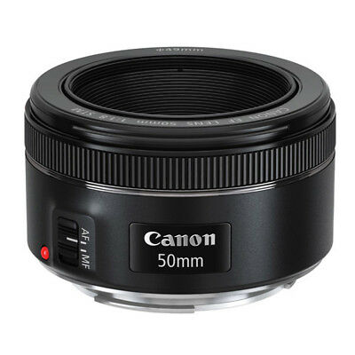 Canon EF 50mm f/1.8 STM Lens (Import Version) *AUS Local Stock*