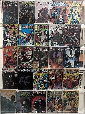 Venom Comics Huge 25 Comic Book Collection Lot Set Run Books Box 1