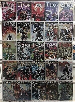 Thor Comics Huge 25 Comic Book Collection Lot Set Run Books Box 2