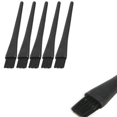 5pcs Black Handle PCB ESD Anti Static Dust Cleaning Brush