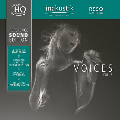 INAKUSTIK | Reference Sound Edition - Great Voices Vol. 3 UHQ-CD