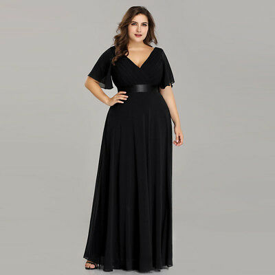 Ever Pretty Us Plus Size Mother Of Bride Dresses Navy Blue Evening