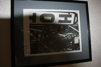 RARE The Crow: Art Print: Signed by James O'Barr 1997 limited edition 605 of 666