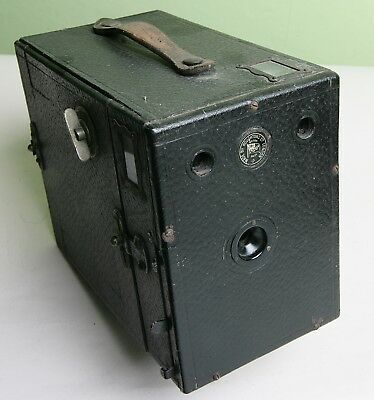 Large '2½ Box Form' Ensign Side Loading Box Camera