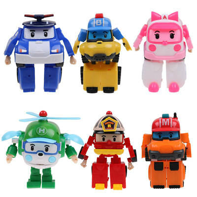 Police Robocar Poli Transformation Robot Car Toys South Korea Thomas
