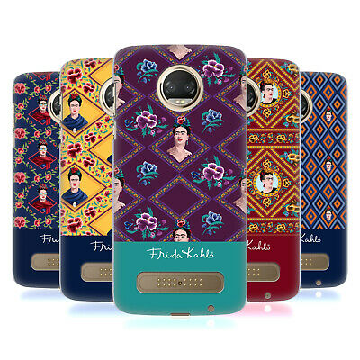 Official Frida Kahlo Portraits And Patterns Back Case For Motorola Phones 1