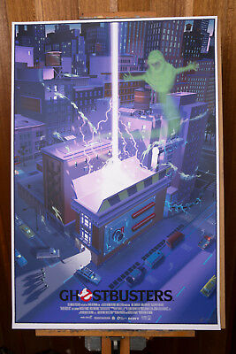 Laurent Durieux Ghostbusters #363/375 Poster Print Mondo INTERNATIONAL SHIPPING