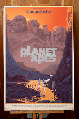 Laurent Durieux Planet of the Apes #26/275 Poster Print Mondo INTERNATIONAL SHIP