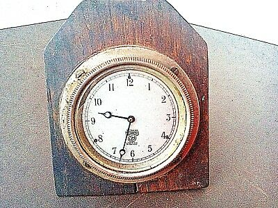 SMITH'S  M A  Vintage DASHBOARD  CAR CLOCK - Working Order