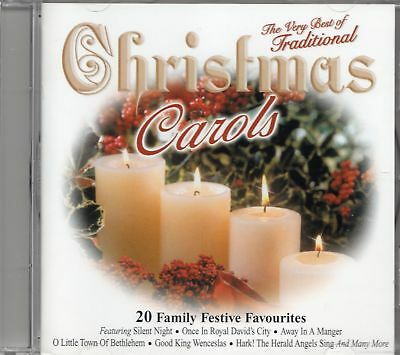 Very Best Of Traditional Christmas Carols CD (The Guildford Cathedral Choir) New