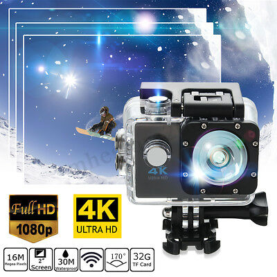 SJ9000 4K Ultra Waterproof WIFI 1080P DVR Sports Action DV HD Camera  new