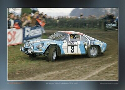 Renault Alpine A110 1800 - Poster