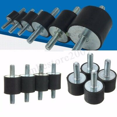 4x M10 M5/M6/M8 Anti Vibration Rubber Mounts Isolators Bobbins Silentblock  new