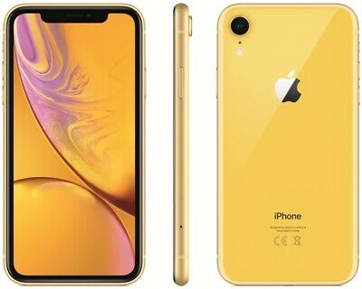 Apple Iphone Xr 64Gb Giallo 6.1  Nuovo Yellow Gar 24 Mesi Smartphone 64 Gb X R