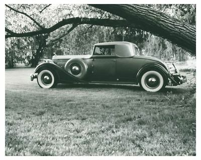 1934 Packard 12 Model 1107 Coupe Automobile Photo ch5870