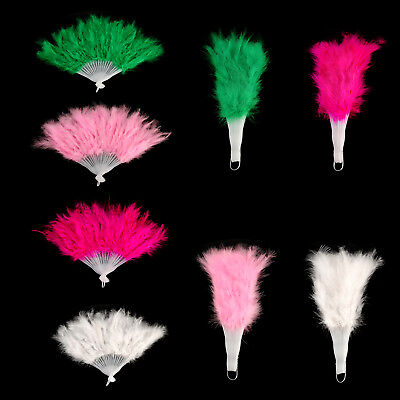 Feather Fan 2m Burlesque Gangster Boa Fancy Stage Hen Night Party Decor