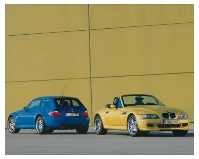 2001 BMW M Coupe & M Roadster Automobile Factory Photo ch8686