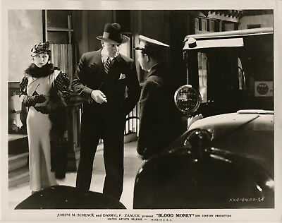 Judith Anderson, Blood Money, 1933 ~ ORIGINAL scene still