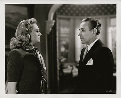 Virginia Mayo, George Raft, Red Light 1949 ~ ORIGINAL scene still