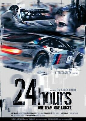 24hours - ONE TEAM. ONE TARGET. Filmplakat