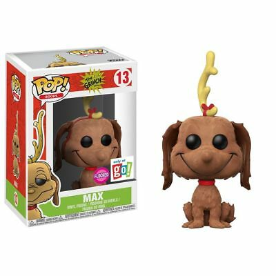 POP Vinyl The Grinch Max - Exclusive Flocked Version, More Toys by Funko