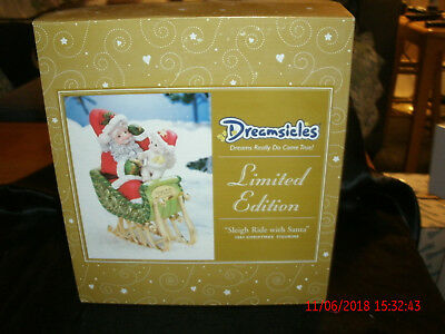 Christmas Dreamsicle Limited Edition Sleigh Ride with Santa