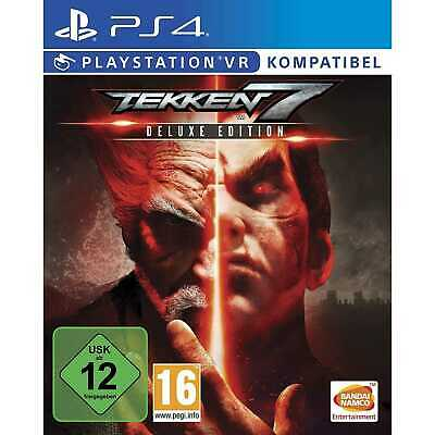 Tekken 7 Deluxe Edition Season Pass Sony PS4 Playstation 4 VR kompatibel NEU&OVP