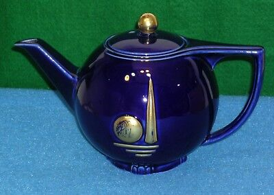 1939 New York World's Fair HALL CHINA TEAPOT Howard  Rossen Collection