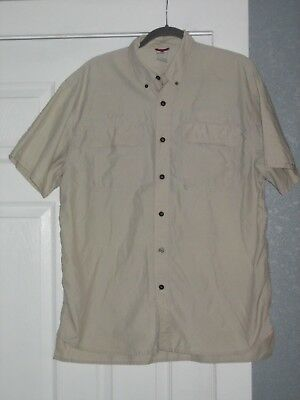 Boy Scouts of America Vented Hiking Shirt, Embroidered, Khaki, Medium