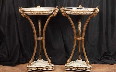 French Empire Jardineres  - Ormolu Torcheres Plant Stands