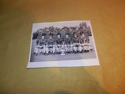 "Chelsea Team Photo with the FA Cup - nice Black & White 10"" x 8"""