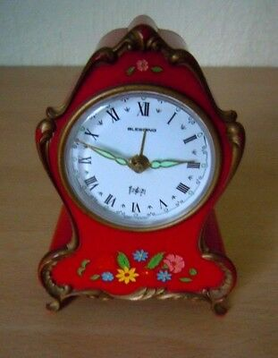 Musical Alarm Clock By Blessing West Germany. Alarm Not Working. But Clock Is Ok