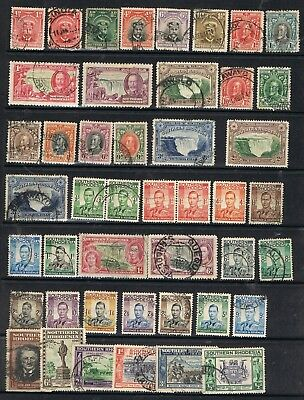 SOUTHERN RHODESIA - Lot of old stamps