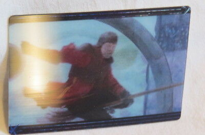 HARRY POTTER AND THE DEATHLY HALLOWS 1 Sammelkarte panini CARD lenticular X12