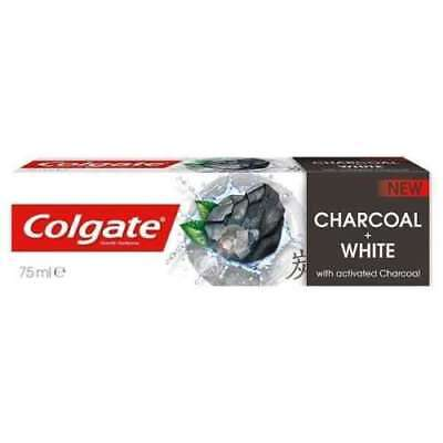 Colgate Charcoal And White Toothpaste Naturals With Activated Charcoal 75ml