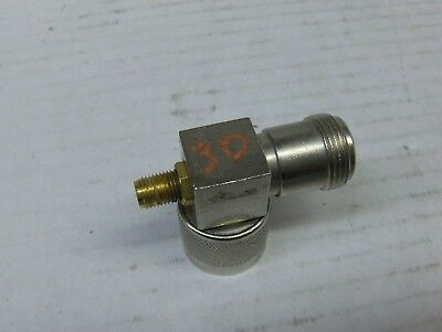 RF SAMPLER -30dB TYPE N CONNECTOR ELBOW WITH SMA PORT USED