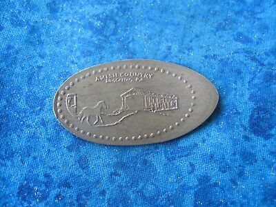 LANCASTER COUNTY LANCASTER CO COPPER Elongated Penny Pressed Smashed 21