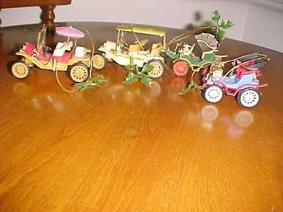 Christmas Ornaments Doublglo Toy Cars With Box
