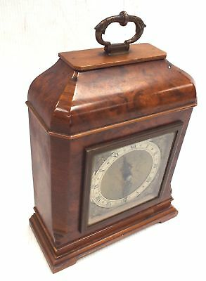 Antique Garrard & Co Elliot Wooden Mantel CLOCK Loyal Service Dated 1933 - M32
