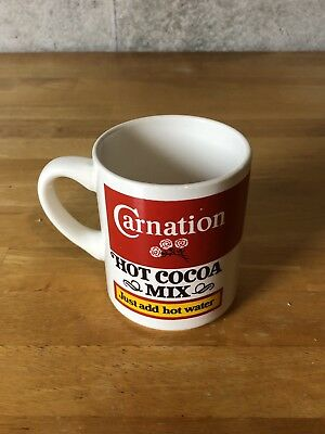 Vintage Advertising Carnation Hot Cocoa Mix Hot Chocolate/Coffee Mug