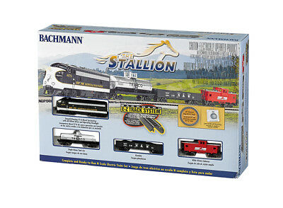 N Scale The Stallion Train Set Bachmann New In  Box # 24025