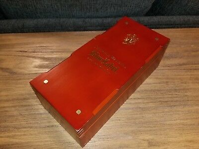 One Of A Kind Johnnie Walker Blue Label Wooden Box. used, very good shape.